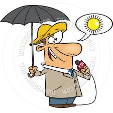 cartoon weather forecast by ron leishman toon vectors eps 139549