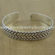 silver antique bracelet images Beautiful sterling silver antique plain jewellery new bracelet wb 2681 jpg