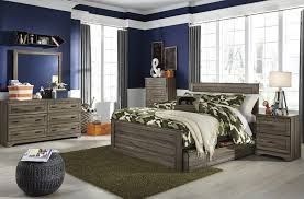buy javarin twin panel bed with trundle under bed storage by