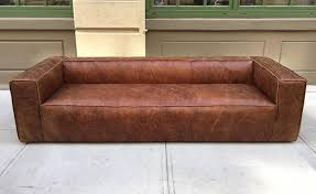 Lancaster Leather Sofa Restoration Hardware Maxwell Leather Sofa In Grey For Home