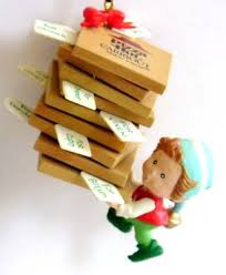 pizza hut ornament special pizza delivery w boxes 3