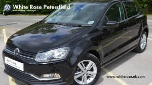 volkswagen polo 2016 black volkswagen polo 1 0 60ps match 5dr 2016 deep black das welt