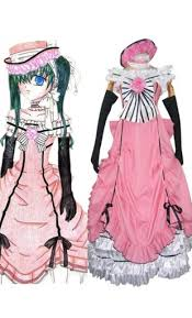 Black Butler Halloween Costumes Black Butler Cosplay Costumes Sale Store