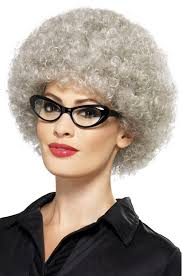 perm for grey hair adult gray granny perm wig old lady costumes funny costumes