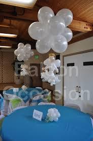 centerpieces for bautizo baptism balloon centerpieces 15270 home design