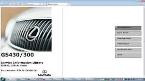 lexus gs300 gs430 jzs160 uzs161 repair manual