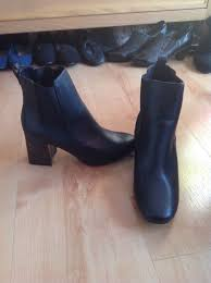 womens boots tu s size 4 tu block heel boots never worn ebay