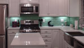 Green Kitchen Tile Backsplash 100 Kitchens With Subway Tile Backsplash Kitchen Kitchen
