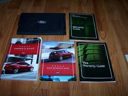 2012 ford focus owners manual ford amazon com books