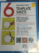 Plastic Template Sheets Collins Vinyl Template Sheets 8 5 X 11 With Grid 6pc Ebay