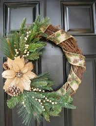 Decorate Christmas Grapevine Wreaths by 42 Best Christmas Wreaths Images On Pinterest Winter Wreaths
