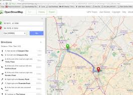 map with driving directions how to print driving directions osm help