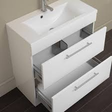 Oslo Bathroom Furniture Eastbrook Oslo 80cm 2 Drawer Base Unit One Stop Bathrooms