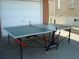 collapsible ping pong table ping pong table table tennis by kettler for sale in regina