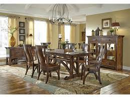 sam dining room b u0026o railroad trestle bridge trestle table with