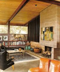Interior Design Mid Century Modern by Best 20 Midcentury Fireplaces Ideas On Pinterest Midcentury