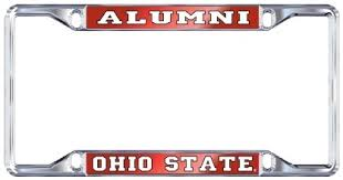 ohio alumni license plate frame ohio state alumni license plate frame compare prices at nextag