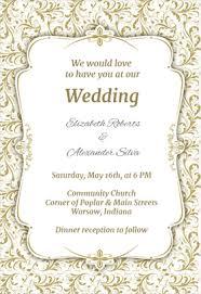 Online Marriage Invitation 8 Free Wedding Invitation Templates Excel Pdf Formats