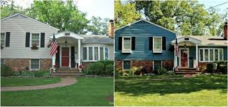 9 incredible home exterior makeovers coldwell banker blue matter