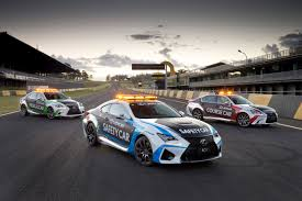 lexus sport car 2015 lexus enters 2015 v8 supercars events with official rc f safety car
