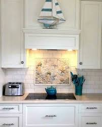 Kitchen Backdrop Coastal Kitchen Backsplash Ideas With Tiles From Beach Murals To