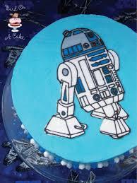 bird on a cake r2d2 star wars birthday cake