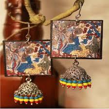 decoupage earrings decoupage earrings kart by
