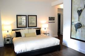 lovely ikea bedroom design ideas with black wooden bed frame plus