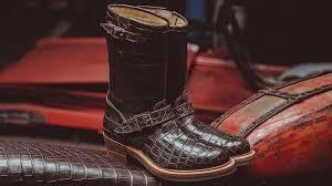 harrods s boots introducing the r m williams x blitz motorcycles bespoke biker