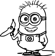 despicable 2 purple minions coloring pages