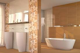 Beige Bathroom Tiles by 15 Creative Bathroom Tiles Ideas Home Design Lover