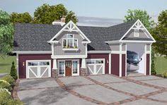 3 Car Garage Plans With Apartment Above Garage On Pinterest Rv Garage Garage Plans And Detached Garage