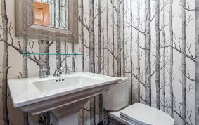 wallpaper designs for bathrooms nature depicted on your walls birch tree wallpaper