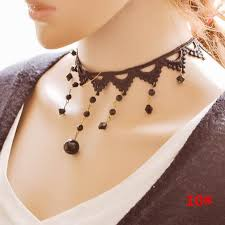 vintage style necklace images Wholesale chokers at 0 65 get vintage style lace necklaces jpg