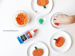 unbelievably easy pumpkin craft for kids