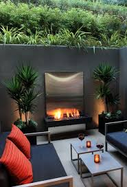 Pinterest Outdoor Rooms - best 25 modern outdoor fireplace ideas on pinterest modern