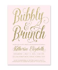 bridal brunch invites chagne bridal brunch invitations sea paper designs