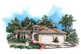 exciting courtyard house plan 33532eb florida mediterranean haammss