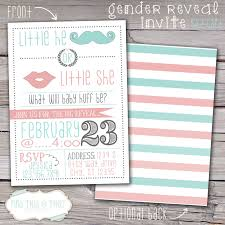 gender reveal invitation template cute custom gender reveal party invitations cute party dress baby
