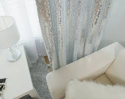 sequin curtains etsy