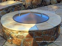 Steel Fire Pit - round metal steel fire pit campfire ring cover 39 u2033 diameter u2013 farm