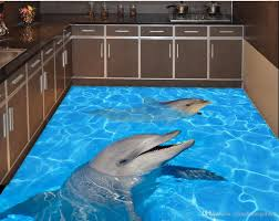 Dolphin Home Decor Fashion Decor Home Decoration For Bedroom Dolphin Water 3d Floor