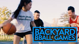backyard basketball games to play with friends pt 2 youtube