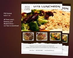 luncheon flyer template lunch flyer template microsoft word