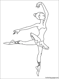 ballerina coloring coloring pages