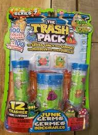 sale trash pack series 7 junk germs 12 pack blue kangaroo