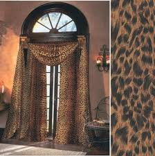 216 Inch Curtains Leopard Sheer Curtains 59 Inches Wide By 84 Inches Long Panel