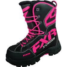 womens snowmobile boots canada fxr x cross womens boots fortnine canada