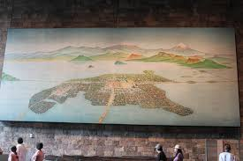 Tenochtitlan Map Viva Mexico Viva Oaxaca Tapestries Of Geographies Histories And
