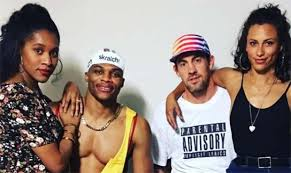russell westbrook lebron james show out with halloween costumes